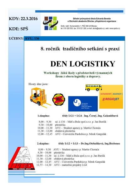 Den logistiky 2016