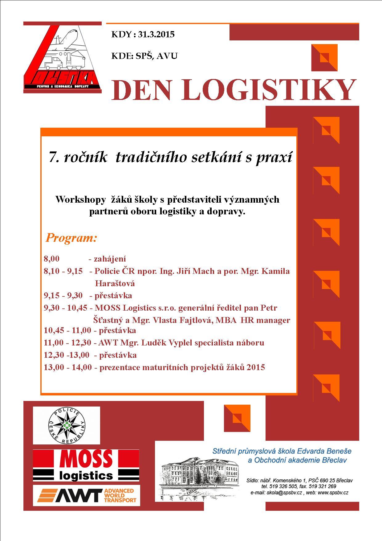 Den logistiky 2015
